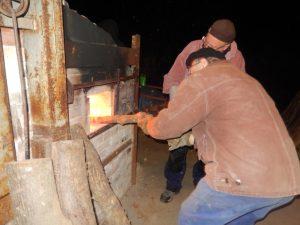 Chargement du bois